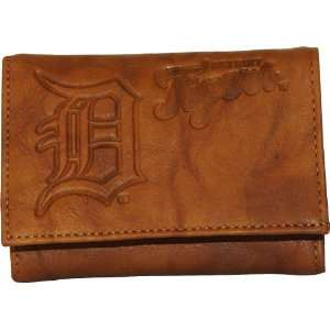 MLB Detroit Tigers Leather Wallet