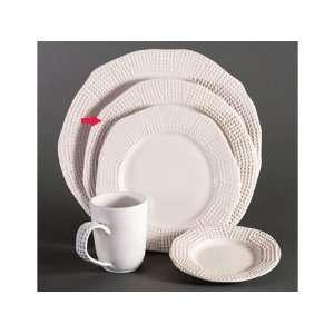 Michael Wainwright Manhattan Origin White Dinner Plate Home & Kitchen