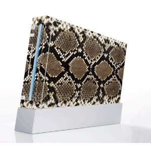 Skin Decorative Protector Skin Decal Sticker for Nintendo Wii Console