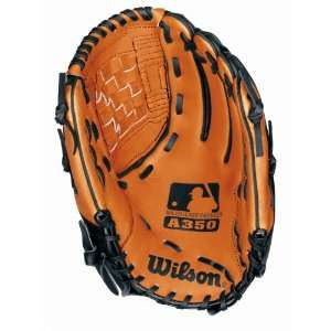 Wilson A350 Series Baseball Glove 12 1/2 Inch (Right
