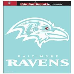 Ravens Nfl 18X18 Die Cut Decal Wincraft