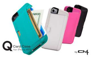 CM4 Q4 BLACK iPhone Wallet Card Case for iPhone 4/4s   1 Pack   Retail