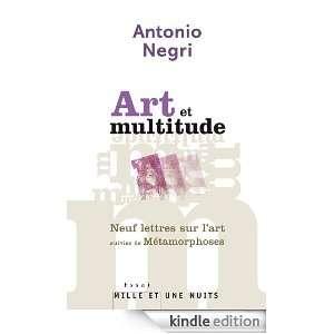 Art et multitude. Neuf lettres sur lart (French Edition):