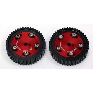 OBX Red Adjustable Cam Gear   89 97 Mazda Miata 1.8L