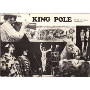 King Pole. The King Pole Magazine December 1974 (Britains only circus