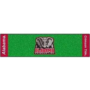 Alabama Crimson Tide Golf Putting Green Runner