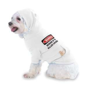 KILLER CHICKENS Hooded (Hoody) T Shirt with pocket for your Dog or Cat