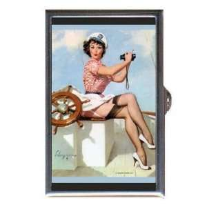 PIN UP SAILOR GIRL BINOCULARS Coin, Mint or Pill Box Made