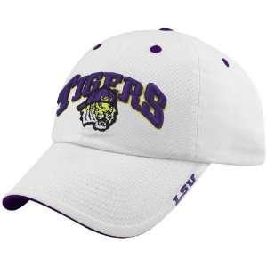 LSU Tigers White Frat Boy Hat