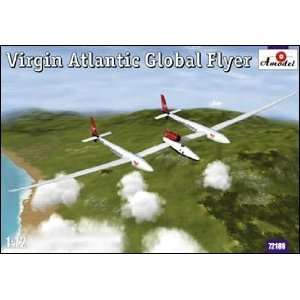 72 Virgin Atlantic Global Flyer Aircraft (Plastic Mode Toys & Games