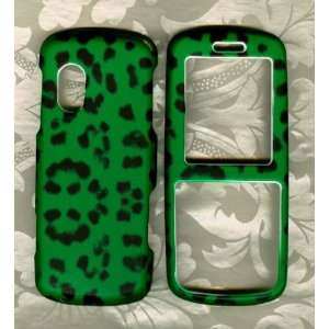 Green Leopard Samsung T401G Straight Talk Phone Hard case