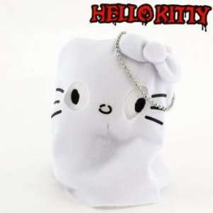 Hello Kitty Monster Collection Plush Doll Ball Chain (Ghost): Office