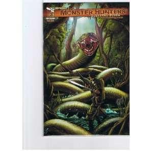 The Monster Hunters Survival Guide #3 Cover A John Paul