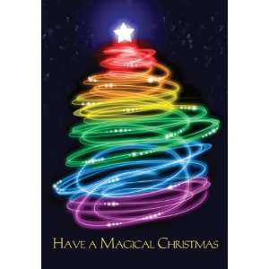 Magical Christmas Tree   Boxed Holiday Christmas Greeting
