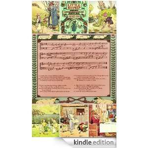 Little Bo Peep & Ring O Roses with music sheet and others tales