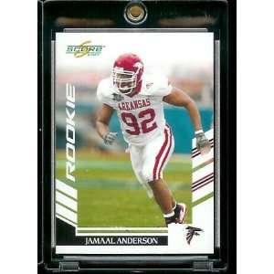 2007 Score # 368 Jamaal Anderson   Atlanta Falcons   NFL Football