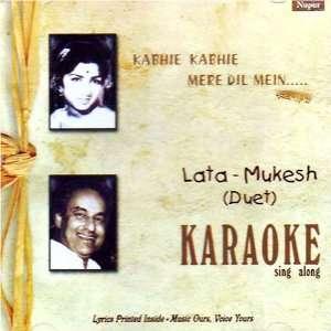 Kabhi kabhi mere dil mein karaoke sing along lata&mukesh