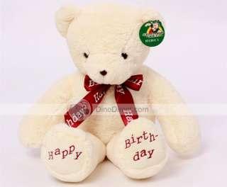 Wholesale Happy Birthday Plush Stuffed Teddy Bear Toy Gift Doll 23