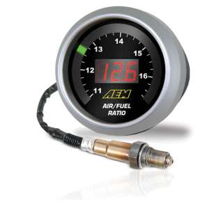 Gauges  Digital Gauges  AEM Wideband UEGO Air Fuel Ratio Gauge