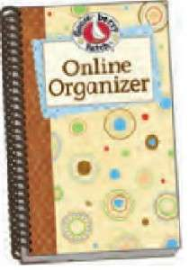 Gooseberry Patch ONLINE ORGANIZER Spiral Booklet