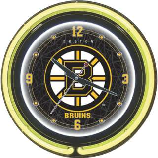 Neon Clock — NHL Boston Bruins Logo  www.kotulas  Free