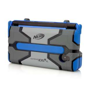 New Nintendo Dsi Xl Nerf Armor Protective Case PDP Blue/ Dark Grey