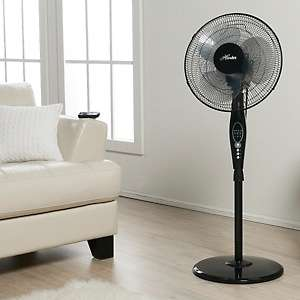 Hunter Oscillating Adjustable Height Stand Fan at HSN