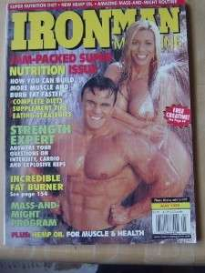 IronMan bodybuilding muscle mag/Theresa Hessler 5 99