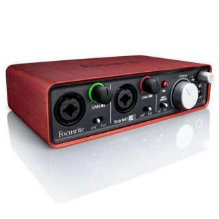 Focusrite Scarlett 2i2 USB Audio Interface at Gear4Music