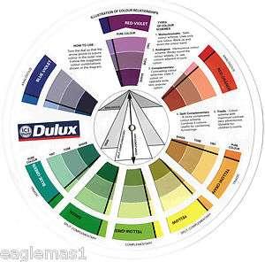 Color Wheel,Dulux Paint Colour Chart,Akzo Nobel Home Makeover,Painting