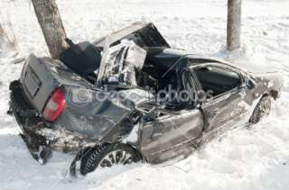 Winter car crash accident  Stock Photo © Dmitry Kalinovsky #5458579