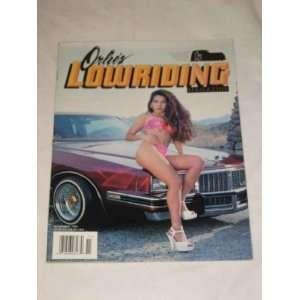 Orlies Lowriding Magazine International Edition November 1996 Brent
