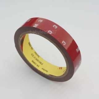 3M 20mm Acrylic Foam Double Sided Attachment Super Tape Auto Truck Car