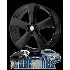 24x9.5 American Racing wheels wheels CIRCUIT Satin Black wheels rims