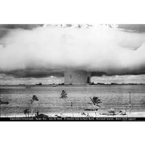 Atomic Bomb (Mushroom Cloud, Operation Crossroads   Baker