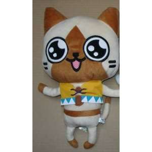 Banpresto Monster Hunter Plush Toy   11 Airu w/ Outfit