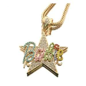 Barbie Star Nicki Minaj Pendant with 20 Inch Necklace Chain Jewelry