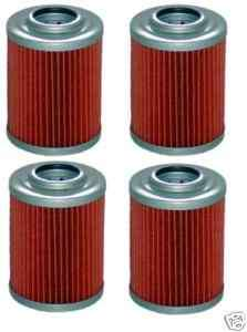 CAN AM 4 NEW OIL FILTERS OUTLANDER MAX 400 500 04 09 XT