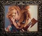 HAUNTED Horror Chucky Doll Photo EYES FOLLOW YOU