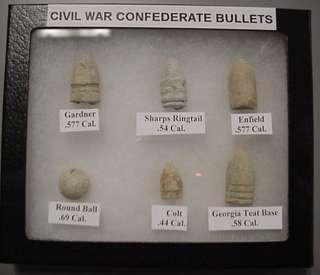 Nice Starter Set Of Confederate Civil War Bullets