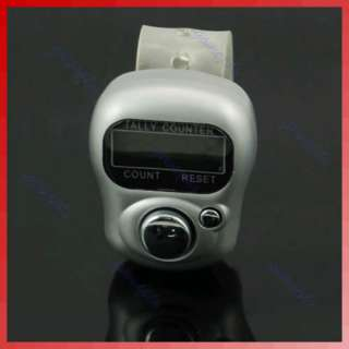 LCD Electronic Digital Golf Finger Hand Held Tally Counter