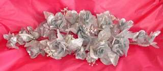 Roses Silk Wedding Flowers SWAG Arch Decor 25th Anniversary