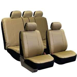 FH PU002115 Classic Exquisite Leather Car Seat Covers