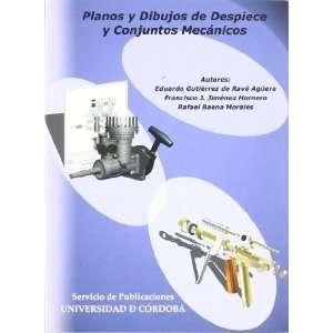 Planos y dibujos de despieces y conjuntos mecánicos