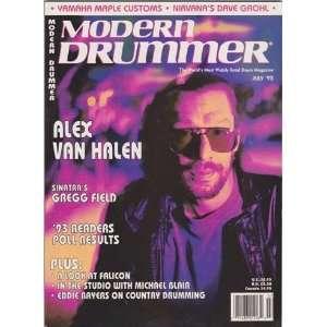Modern Drummer Magazine (July 1993) (Alex Van Halen