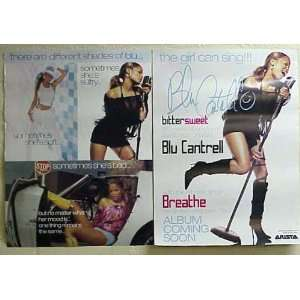 BLU CANTRELL Breathe 2 Sided 18x24 Poster