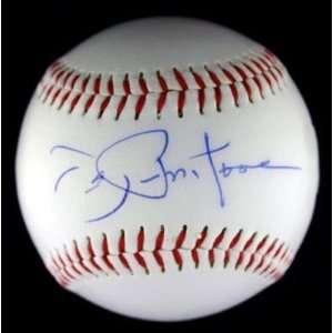 Joe Pepitone Autographed Baseball   Logo ~jsa Coa~   Autographed