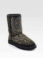 Ugg For Jimmy Choo Mandah Sheepskin Short Boots