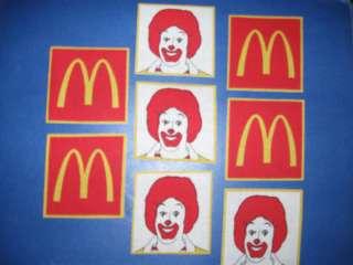McDonalds Ronald McDonald Fabric Iron On Appliques (#2)