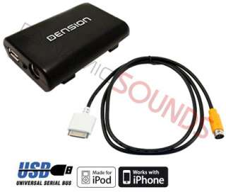 IP05DC9 iPod Dock Cable iPod iPhone USB Interface Adaptor For FORD
